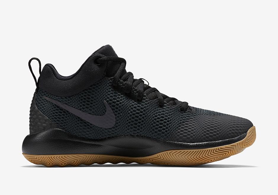 Original Nike Zoom Hyperrev 2017 Black Anthracite White 852422 010 Basketball Shoe For Sale