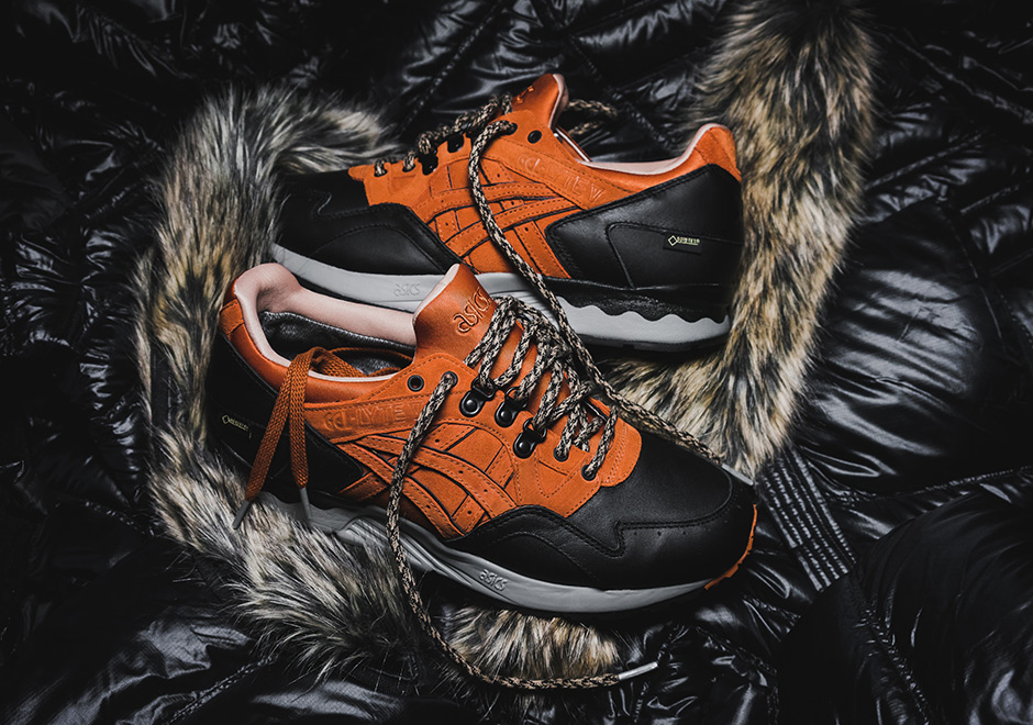 Packer Shoes ASICS Gore Tex George Costanza Release Date