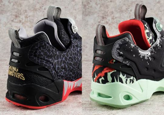 Japan's Megahouse Adds Godzilla Colorways To The Reebok Instapump Fury Road