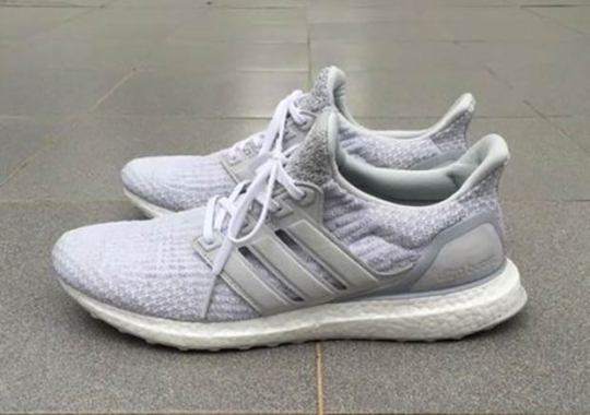 Reigning Champ And adidas Releasing A White Ultra Boost 3.0