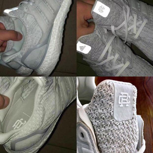 9a3566fa5fce Reigning Champ adidas Ultra Boost 3.0 White BW1116