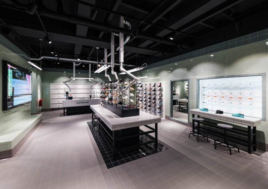 Solebox's New Amsterdam Store Is Inspired By A Chemistry Lab