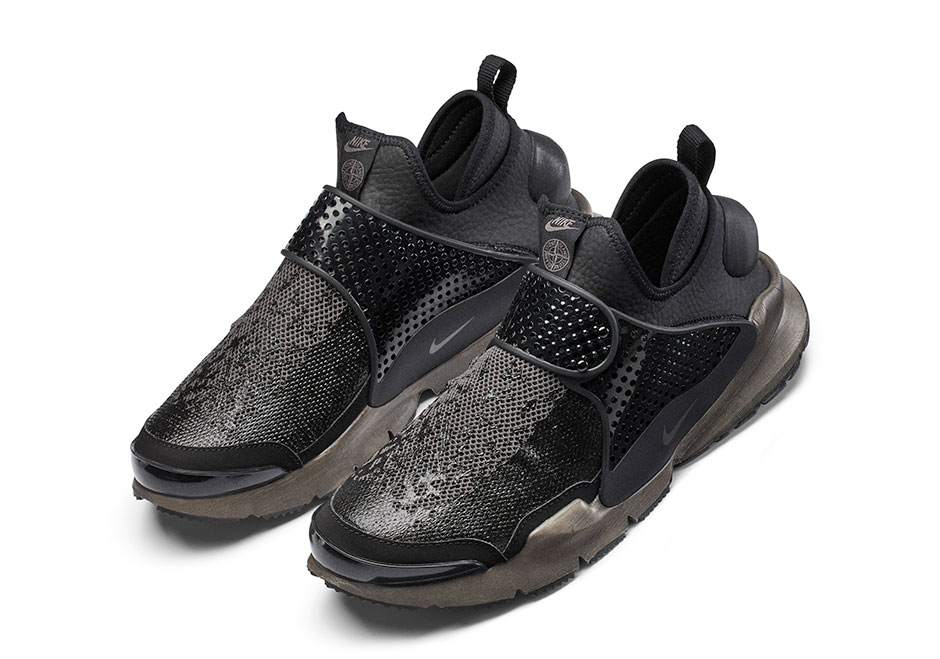 new styles a4bb2 6a242 Stone Island x NikeLab Sock Dart Mid Release Date  January 26th, 2017.  Price TBD Color  Black Black-Anthracite Style Code  910090-001