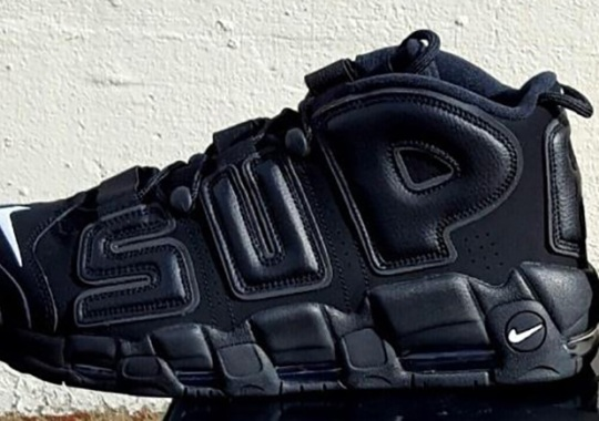"Supreme x Nike ""Suptempo"" Has Reflective Uppers"