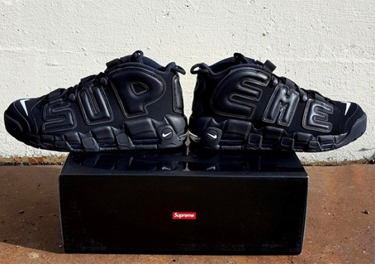 "First Look At The Supreme x Nike Air More Uptempo ""Suptempo"""