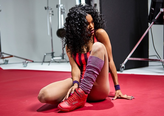 Teyana Taylor And Reebok Release The Freestyle Hi In Three Colorways