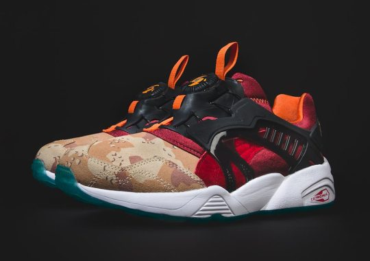 "atmos and Titolo Join Forces For The Puma Disc Blaze ""Desert Dusk"""