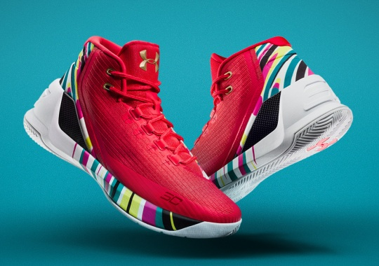 Steph Curry's Chinese New Year Shoes Release Tomorrow
