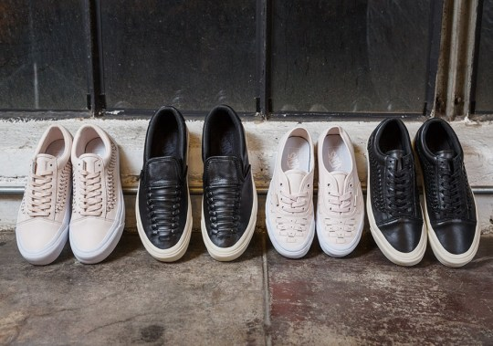 Vans Transforms Classic Skate Models With Woven Leather Uppers
