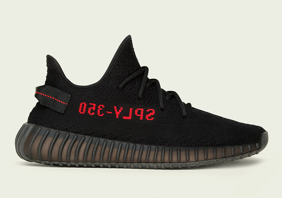 A closer look at the Yeezy Boost 350 v2 Red Stripe Yeezy Sneaks