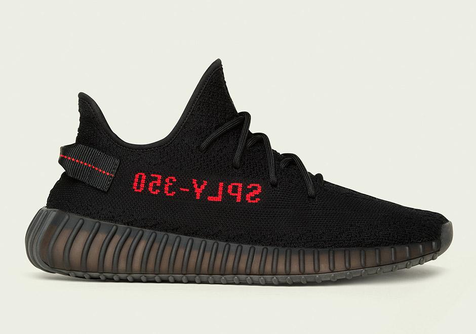 premium selection 0925e 5e372 STORE LIST  Yeezy Boost 350 v2 Black Red Adult Infant   SneakerNews.com