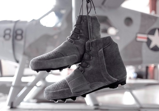 adidas Made Yeezy 750 Cleats For The NFL Playoffs