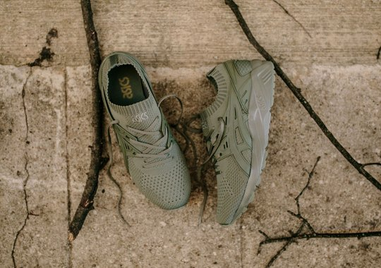 "ASICS GEL-Kayano Knit Trainer ""Agave Green"""