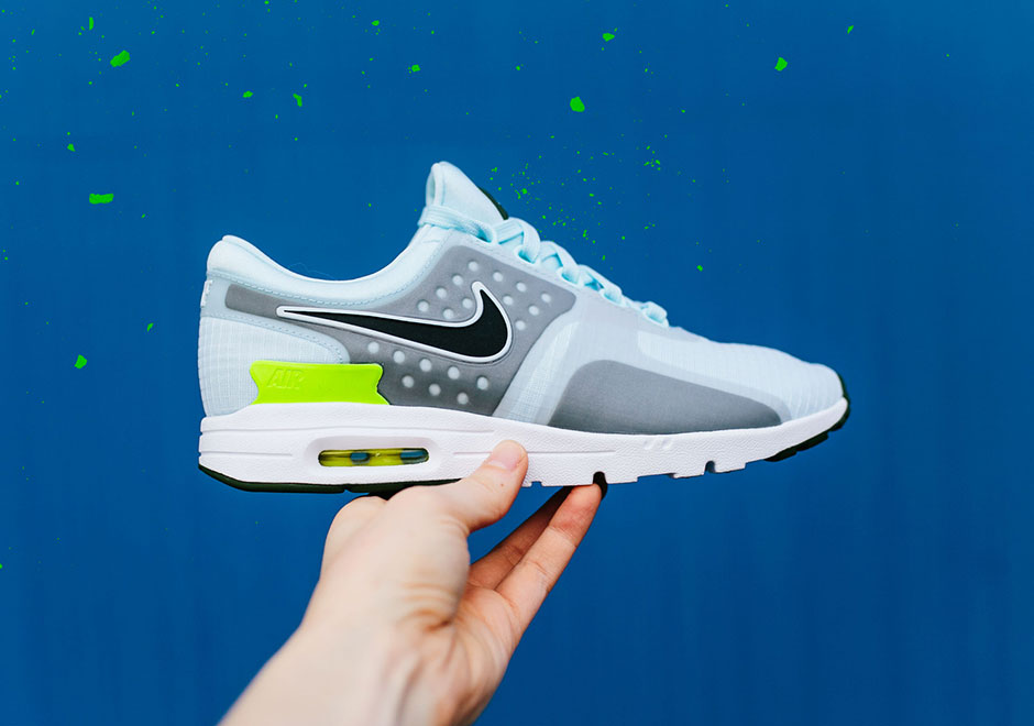 Showing no signs of slowing down is the Nike Air Max Zero, which arrives  this spring in a number of new women's colorways including the two Glacier  Blue ...