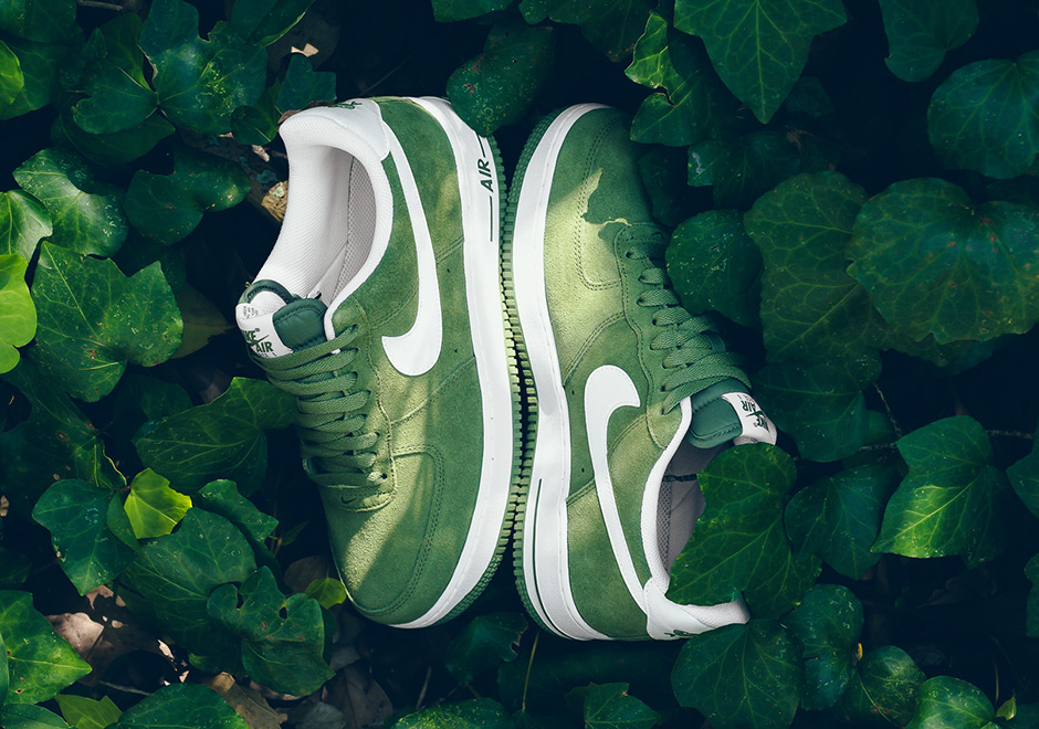 Nike Air Force 1 Low Palm Green Suede