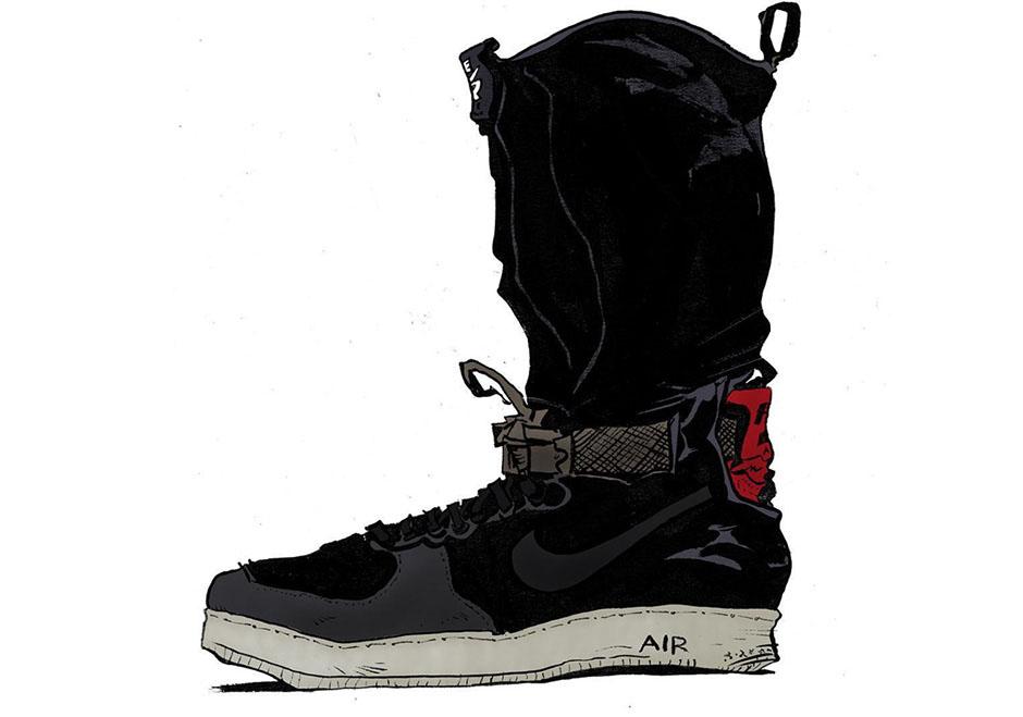 more photos c1788 48d1e ACRONYM Nike Air Force 1 Downtown Sample  SneakerNews.com