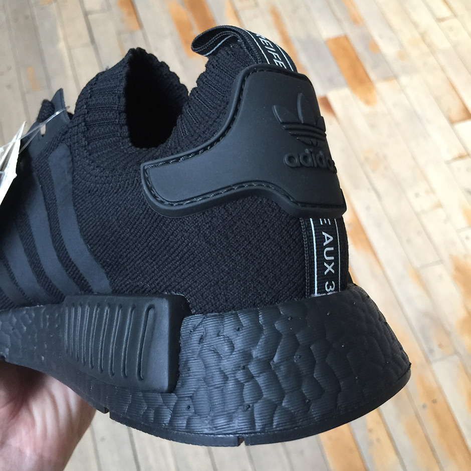 the latest 0117d 77e90 adidas NMD R1 Japan Boost Triple Black Triple White ...