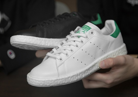 The adidas Stan Smith Boost Is Releasing This Month