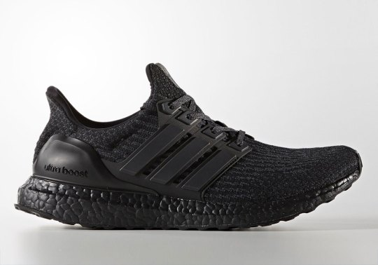 "adidas Ultra Boost 3.0 ""Triple Black"" Releases On March 1st"