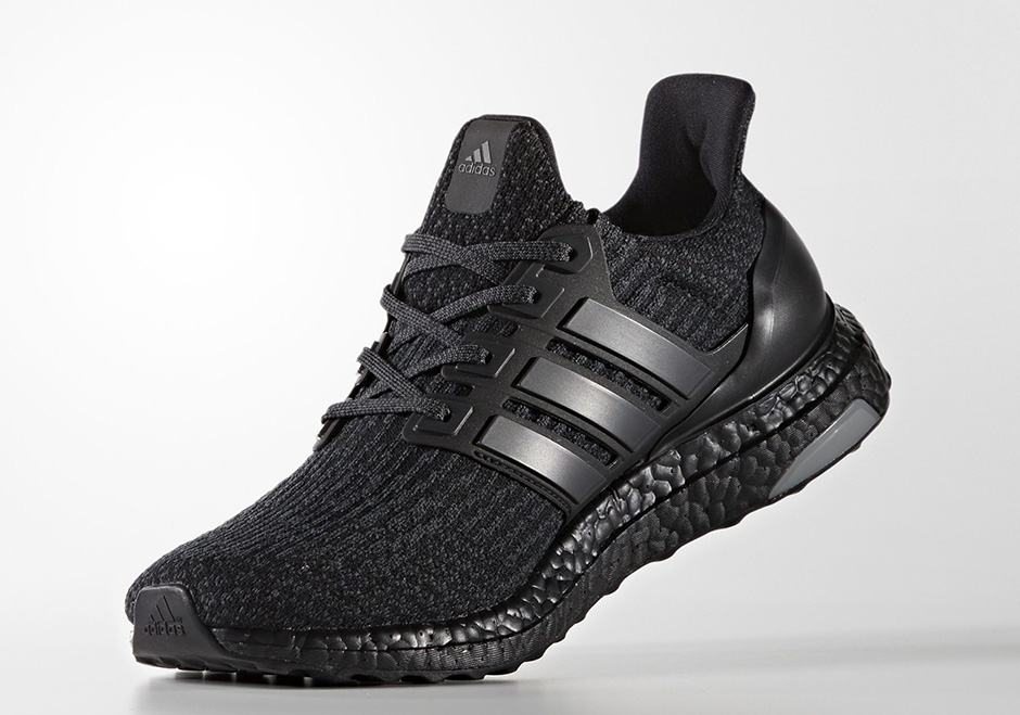 """sports shoes 40c7d 38917 adidas Ultra Boost 3.0 """"Triple Black"""" Release Date March 1st, 2017 200.  Color Core BlackCore Black-Core Black"""