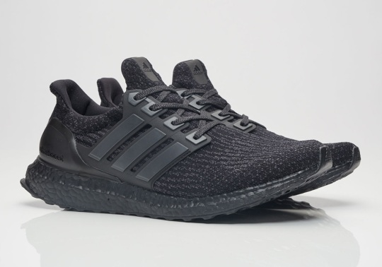 "Where To Buy The adidas Ultra Boost 3.0 ""Triple Black"""