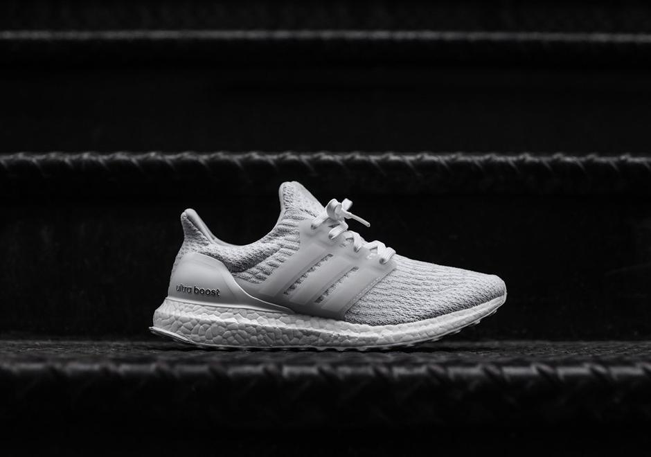 Menns Adidas Ultra Boost 3,0 Trippel Svart