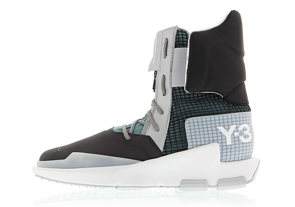 879a118f32ee adidas Y-3 Noci High Price   400. Color  Core Black Silver Metallic Crystal  White
