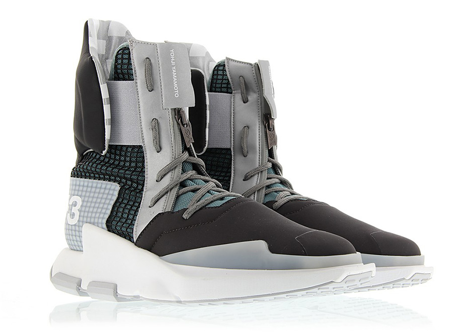 49cc7db9532a adidas Y-3 Noci High Price   400. Color  Core Black Silver Metallic Crystal  White