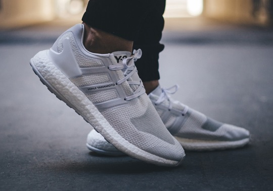 """The adidas Y-3 Pure Boost """"Triple White"""" Is Here"""