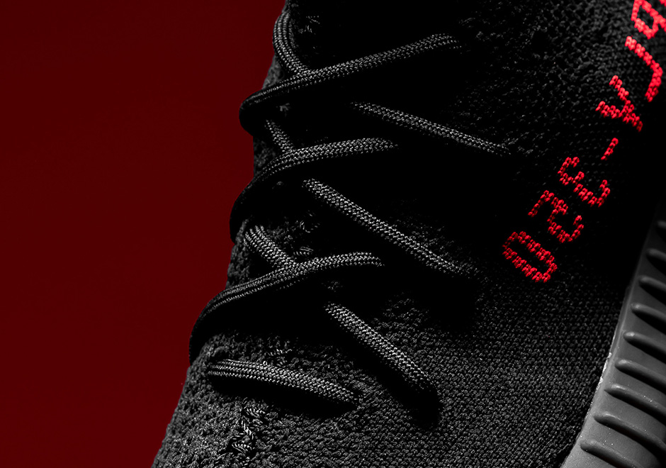 3a6694a6995 Yeezy Boost 350 V2 Black Red Release Date   Price
