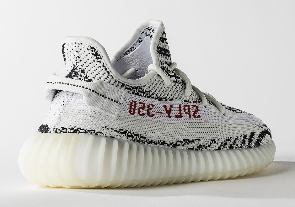 "Official Images Of The adidas Yeezy Boost 350 v2 ""Zebra"""