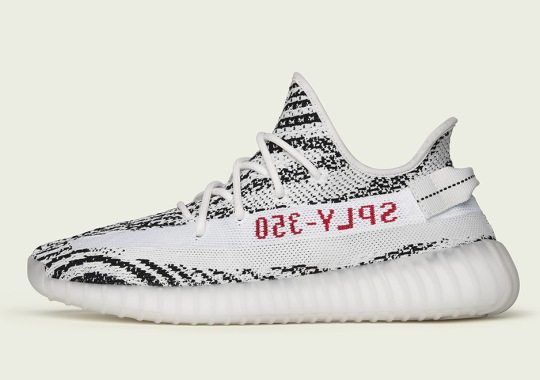 "Store List For adidas Yeezy Boost 350 v2 ""Zebra"""