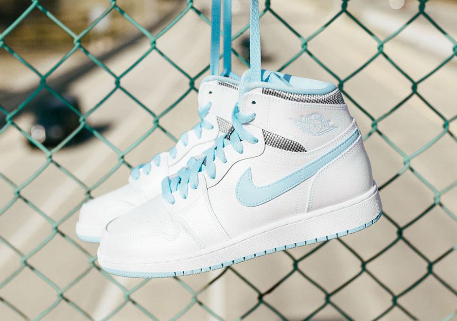Air Jordan 1 High Bg Still Blue Sneakernews Com