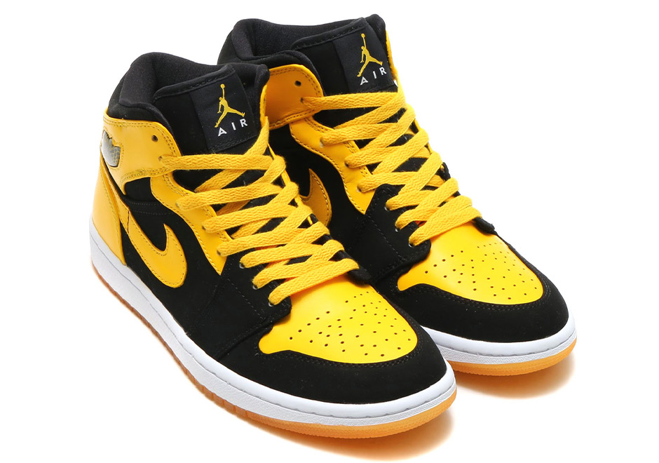 nike air jordan 1 yellow