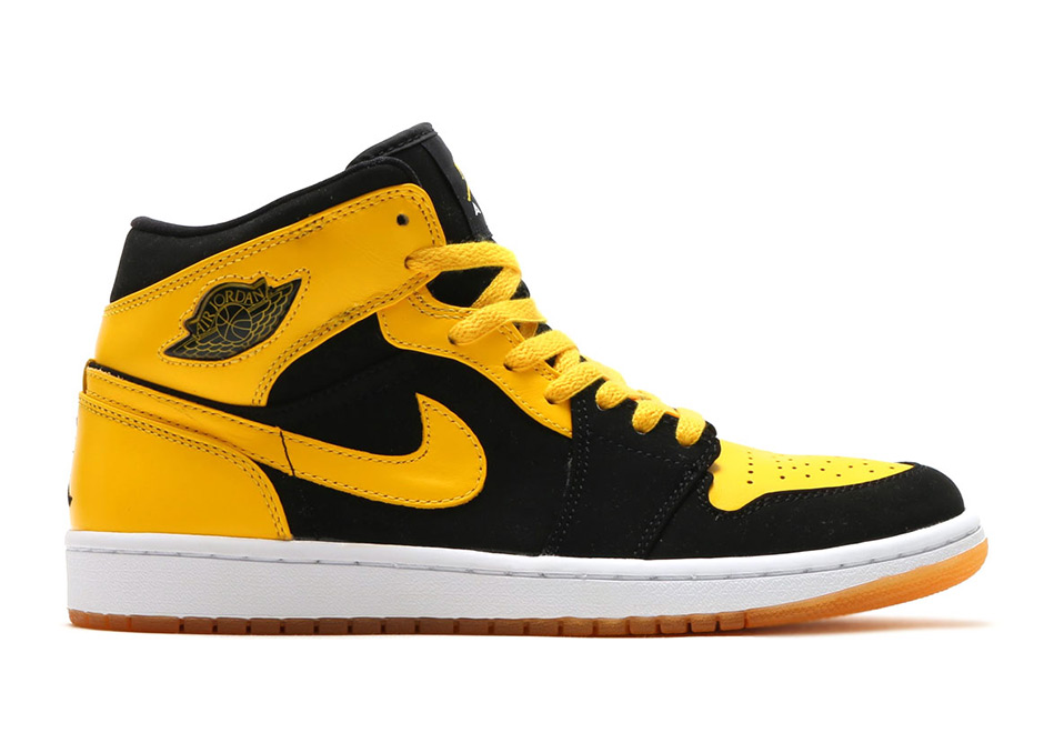 air jordan 1 retro dmp yellow/black