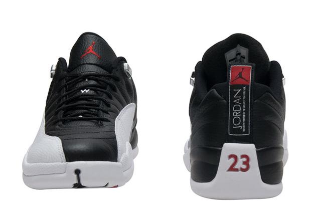 "de29ea5680fa2d Air Jordan 12 Low ""Playoffs"" Release Date  February 25th"