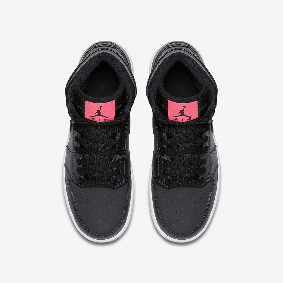 Air Jordan 1 High GG Black Pink 332148