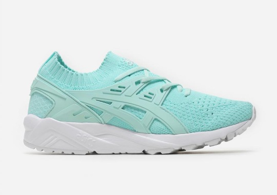 The New ASICS GEL-Kayano Trainer Knit Gets Minty