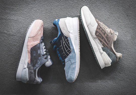 ASICS Releases Three Clean GEL-Respectors For Early Spring