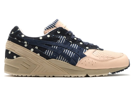 "ASICS GEL-Sight ""Indian Ink"" Returns With Crazy Patterns"