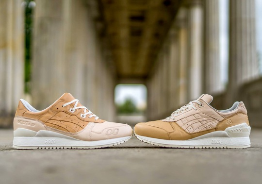 """ASICS """"VEG-TAN"""" Pack Features Premium Leather On The GEL-Lyte III and GEL-Respector"""