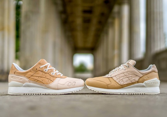 "ASICS ""VEG-TAN"" Pack Features Premium Leather On The GEL-Lyte III and GEL-Respector"