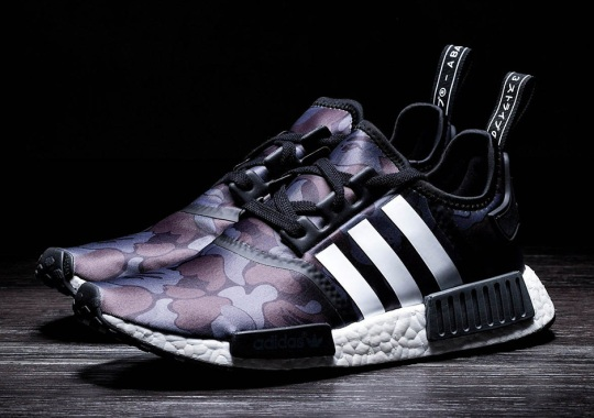 "Here's Another Chance To Grab The BAPE x adidas NMD R1 ""Black Camo"""