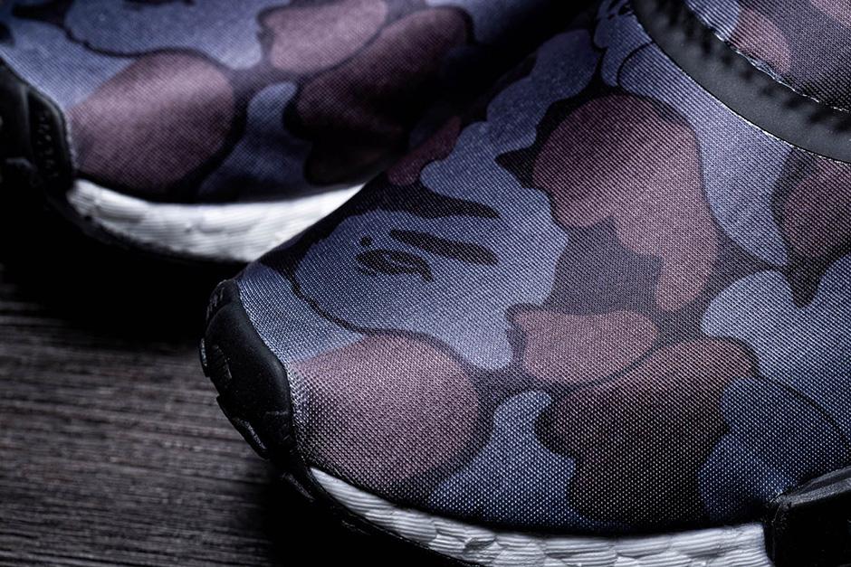 Bape X Adidas Originaler Nmd R1 Camo Svart IjDCRH