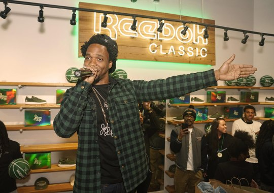 Curren$y and Reebok Classic Kick Off All-Star Weekend in New Orleans With Special Event At Sneaker Politics