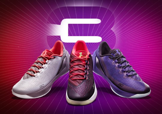 Under Armour Unveils Curry 3 All-Star Collection Including Four Colorways