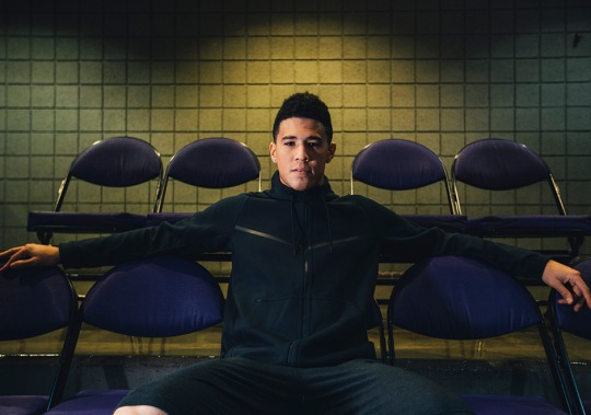 "Devin Booker And Nike Launch ""Come Out Of Nowhere"" Series"