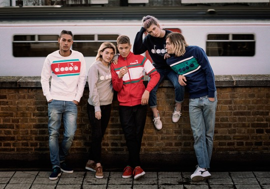 """Diadora Gets Nostalgic With """"80s in the UK"""" Collection"""