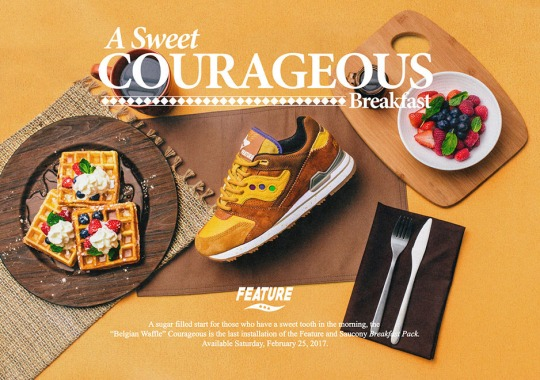 Feature Serves Up Belgian Waffles With Next Saucony Collaboration