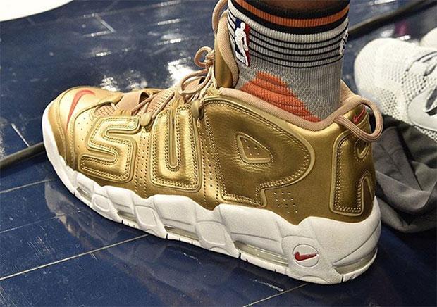 002551d7364a Derrick Jones Jr. Wears Gold Nike